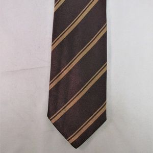Brioni Men's Striped Silk Tie